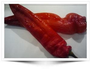 Zelf Gerookte Rode Punt Paprika